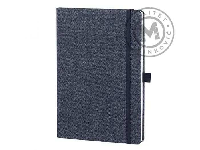 notebook-A5-jeans-notebook-blue