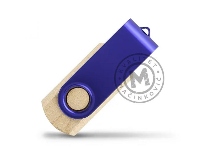usb-flash-memorija-smart-wood-plava