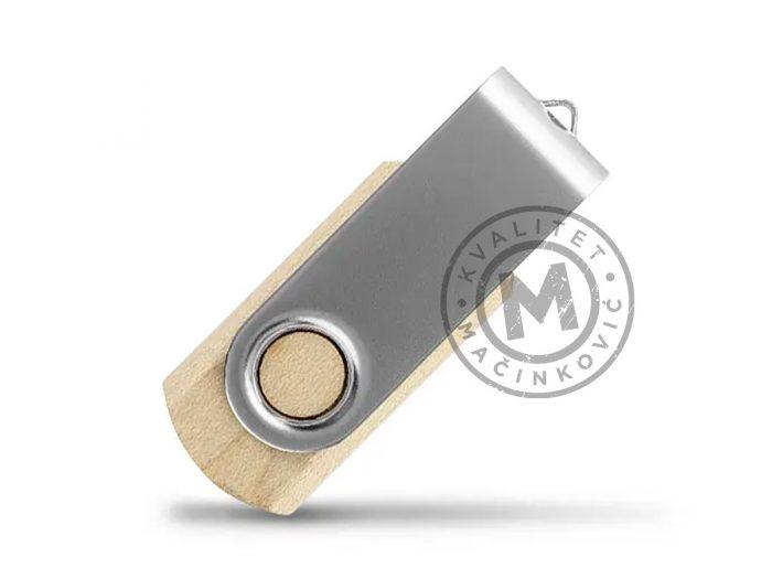 usb-flash-memorija-smart-wood-srebrna