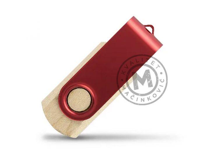 usb-flash-memory-smart-wood-red
