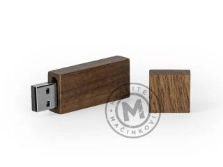 USB flash – wooden case, Patch