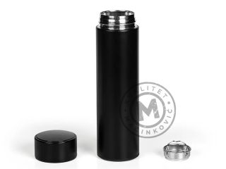 Vacuum flask with LED touch thermometer, Element Smart