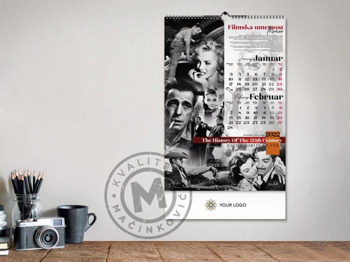 wall-calendar-xx-century-jan-feb