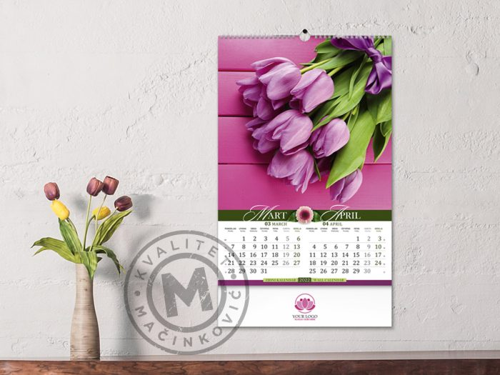wall-calendars-flowers-march-april