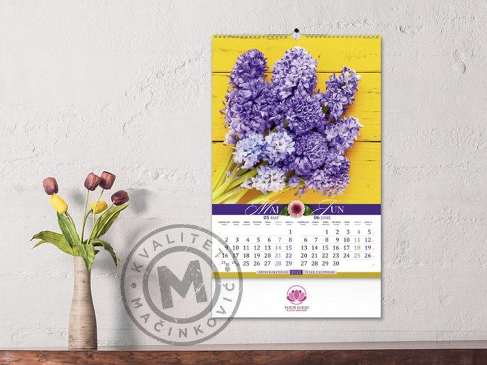 wall-calendars-flowers-may-june