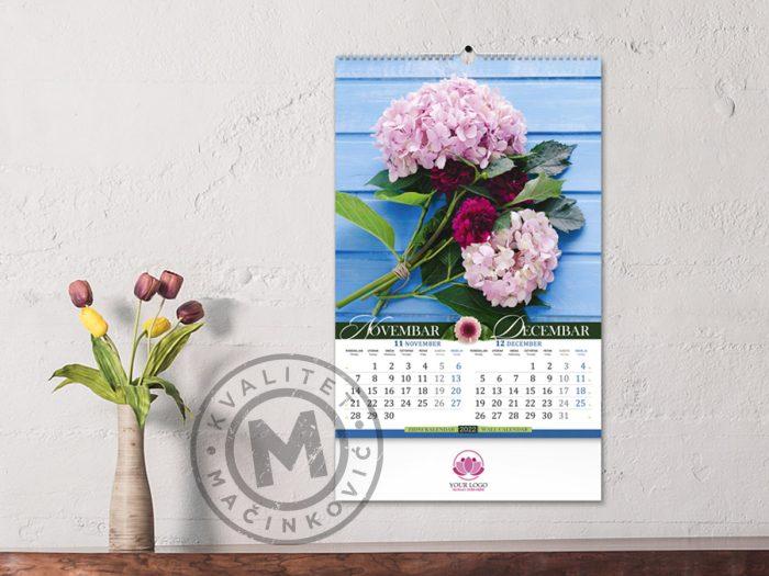 wall-calendars-flowers-nov-dec