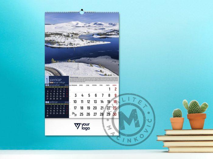 wall-calendars-waters-of-serbia-january