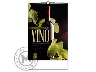 Zidni kalendar, Vino
