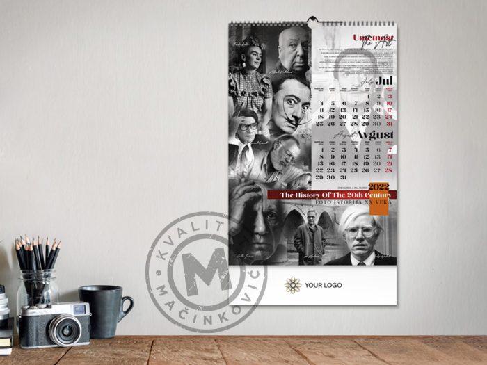 zidni-kalendar-xx-vek-jul-avg