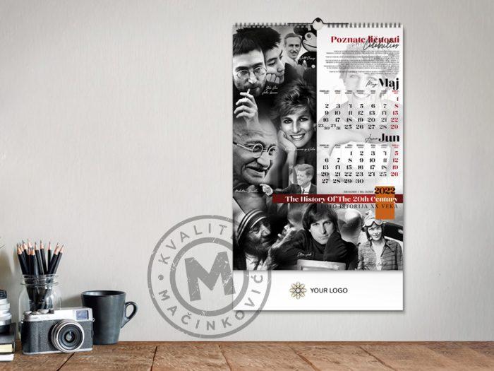 zidni-kalendar-xx-vek-maj-jun