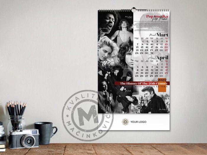 zidni-kalendar-xx-vek-mart-april