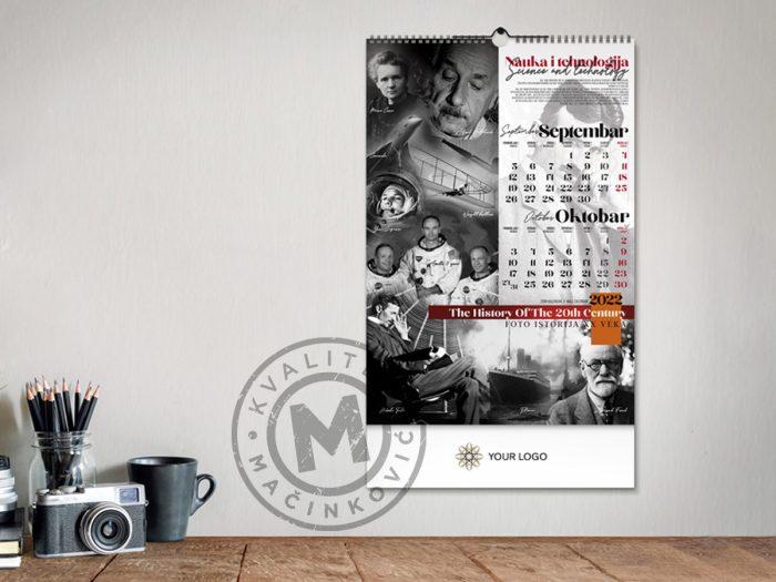 zidni-kalendar-xx-vek-sep-okt